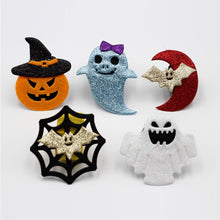 10 Chrismas Patted Circle Clap Ring Halloween Kids Masquerade Party performance Pumpkin Witch Ghost Bat Bracelet Ornament Gifts