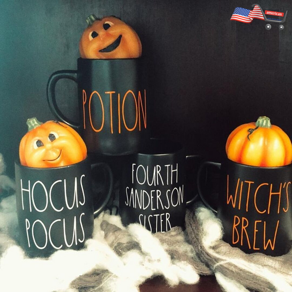 Rae Dunn Inspired Halloween Vinyl Mug Decals, Rae Dunn Halloween Decals, Hearth & Hand Mug Decals, Hearth Hand Halloween Decals        Update your settings