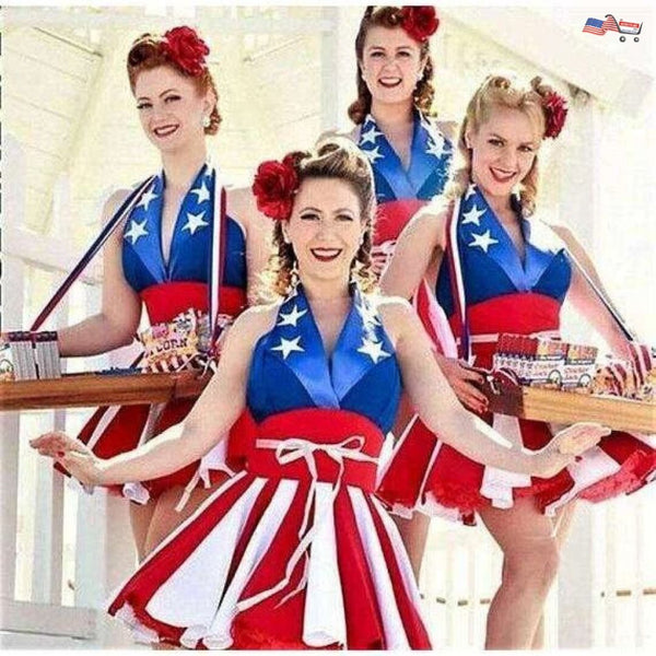 American flag dress | Captain America dress