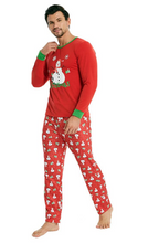 Xmas Snowman Family Matching Pajamas Clothing Set Adult Kids Men Women Nightwear Christmas Pjs Family Matching Clothes