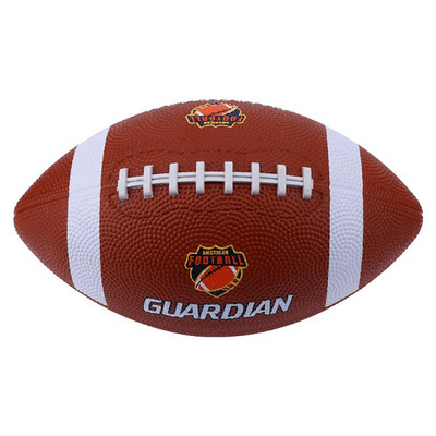 1pc Soft Rubber AF9 No. 9 Rugby Ball American Football Training Ball Sport Match Sport Standard Rugby for Child Kids Men Women