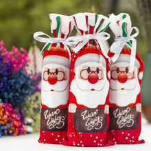 1pcs AU Table Decor Dinner Party Red Wine Christmas Santa Tree Bottle Cover Bag Sets Bottle Decor for New Year Xmas Dinner Party