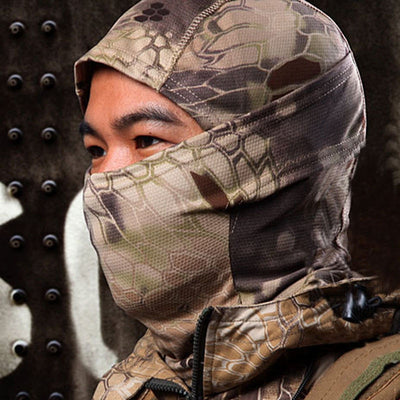 2018 1PC Camouflage Army Cycling Motorcycle Cap Balaclava Hats Full Face Mask Safety & Survival Z825