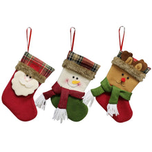 2018 Cute Sock Halloween Christmas Tree Hanging Pendant New Year Tree Pendants Christmas Gift Bag Party DIY Home Decorations