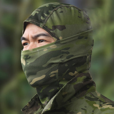 2018 Multicam Tropic quick-dry Nijia Balaclava/ MTP Full face soft Skullies & Beanies Hunting Caps