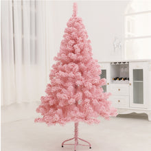 2018 Pink Christmas Tree Artificial Christmas Tree Xmas Party Holiday Ornament Home Decor Office Decorations  New Year Kids Gift