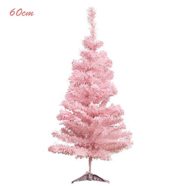 Pink Artificial Christmas Tree.2018 Pink Christmas Tree Artificial Christmas Tree Xmas Party Holiday Ornament Home Decor Office Decorations New Year Kids Gift