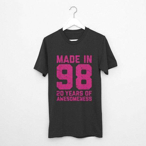 20th Birthday Shirt, 20th Birthday Girl, 20th Birthday Gift, 20th birthday, Birthday Girl Shirt, Birthday Girl, Twentieth Birthday, Girl
