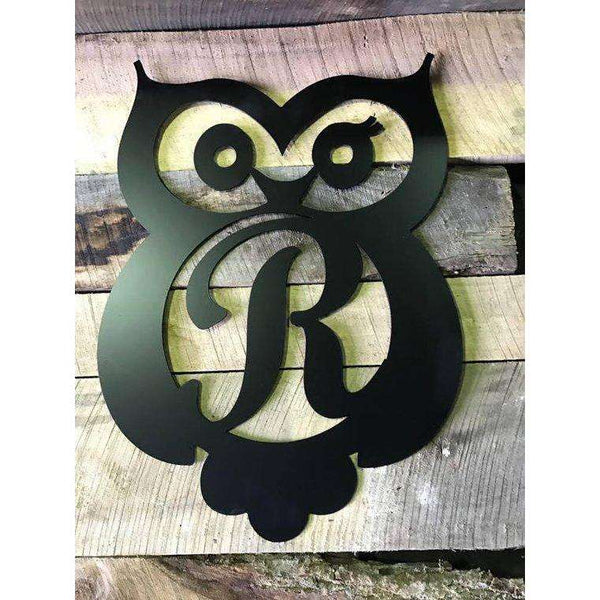 "23"" Owl Metal Monogram"