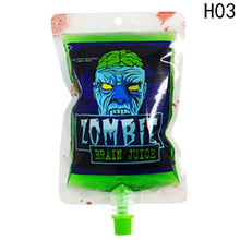 250ml Transparent Clear Medical PVC Material Reusable Blood Energy Drink Bag Halloween Vampire Pouch Props Freeshipping