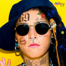 T69 Face Tattoo Set Inspired by Tekashi 6ix9ine | Halloween Face Tattoos