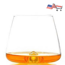 TNG Handcrafted Whiskey Glass, Set of 2 - Prime Lead-Free Ultra Clarity Glass - Perfect for Drinking Bourbon or Scotch - Deluxe Gift Box.