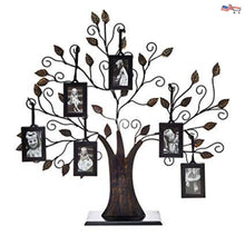 Klikel Family Tree Photo Frame - Display with 10 Hanging Picture