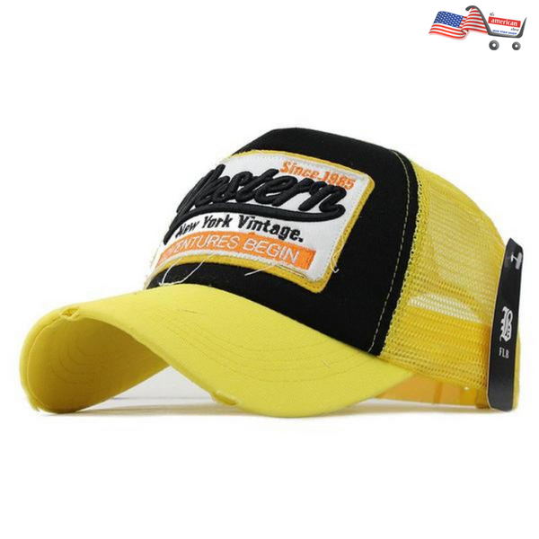 Summer Baseball Cap Embroidery Mesh Cap & Casual Hip Hop For Men Women Caps Casquette F207