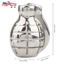 Whiskey Stone Grenade Shaped Stainless Steel with Storage Bag