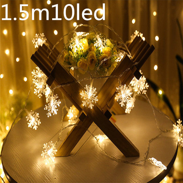 3m 30 Lamp LED Strip Light Battery Box Light String Christmas Decorations for Home Decor New Year Decoration Christmas 2018.q