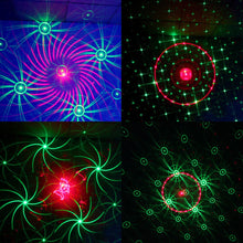 48 Pattern Laser Projector Remote/Sound Controll LED Disco Light RGB DJ Party Stage Light Christmas Lamp Decoration UK/US/EU