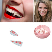4PC Horrific Fun Clown Dress Halloween Cosplay Dentures Zombie Vampire Teeth Ghost Devil Fangs Props Costume Party