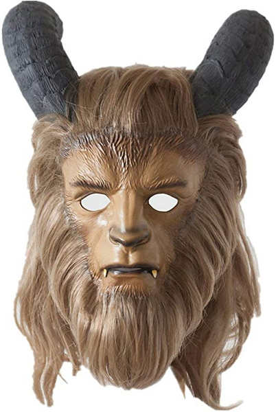 Movie Beauty And The Beast Mask Cosplay Prince Beast Mask Halloween Carnival Party Decoration Latex Lion Horror Mask With Wig
