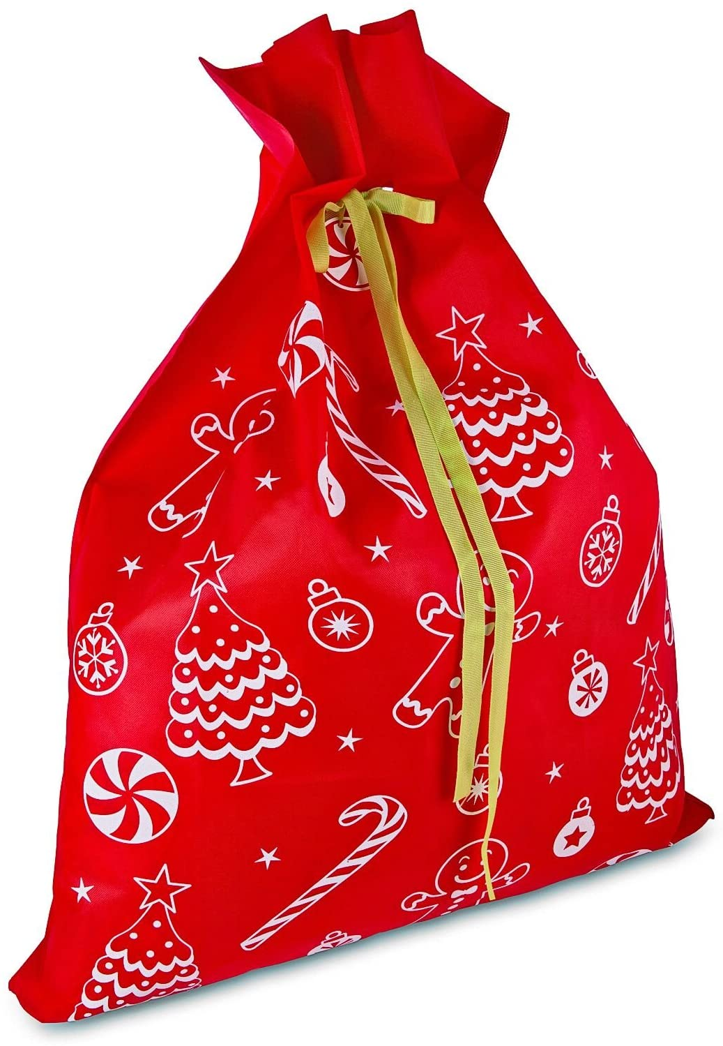 Exquisite Christmas Day Decoration Santa Large Sack Stocking Big Gift bags HO HO Christmas Santa Claus Xmas Gifts navidad bags