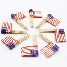 A American Flag Party Tableware Supplies Decorations Independence Day 4th July