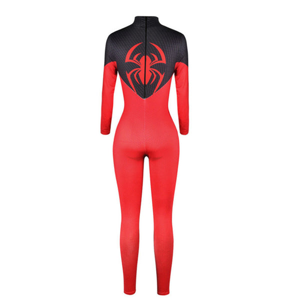 Ainiel Homecoming Spiderman Cosplay Costume Venom Bodysuit Iron Spider man Jumpsuit Avengers: Infinity War Halloween For Woman