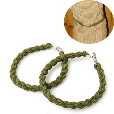 Army Military Trouser Twists Elastic Blousing Garters Trouser Twists Bungee from Trouser Ankle Hooks Tactical Leg Ties NEW