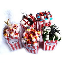 Artificial Foam Eyeballs Spider Paper Card Popcorn Decor Food Party  Home Decorations Festival Party Supplies DIY Halloween