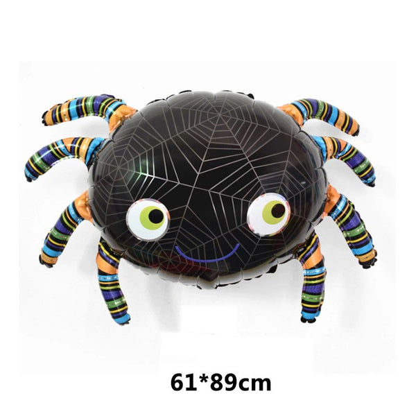 Bat Cartoon Children spider aluminum foil pumpkin head 2018 New 1PC Home Decorations Kids Balloon Festival Supplies Halloween
