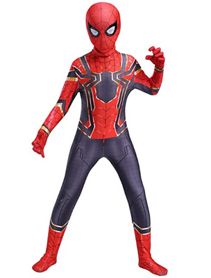 Halloween Cosplay Costumes 3D Style Spiderman costume for kids