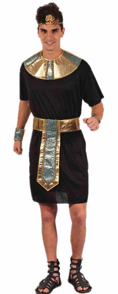 Chief King Men Costumes Halloween Party Couple Adults Clothing Cleopatra Fancy Women Dress Exotic Masquerade Party