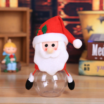 Child Kids Christmas Gift Bags Candy Jar Storage Bottle Santa Bag Sweet Christmas Bag And Boxes New Year 2019 Navidad 2018 Noel