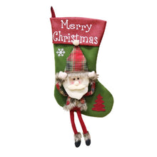 Christmas Decorations Christmas pendant Christmas Gift Bag Big Socks Christmas Tree Pendant Children Gift Candy Bag