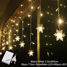 Curtain Fairy String Light LED Christmas Decorations For Home Garland Xmas Light Christmas Tree Decor 2019 Navidad Ornament Gift