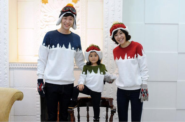 Family Christmas Clothes Mother Daughter Father Son T-shirt Family Matching Clothes Mommy and Me Clothes Family Look Outfit
