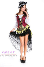 Pirates Of The Caribbean Latin Dance Skirt - Woman