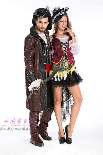 Pirates Of The Caribbean Latin Dance Couple Costume