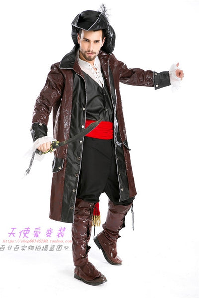 Pirates Of The Caribbean Latin Dance Costume - Men