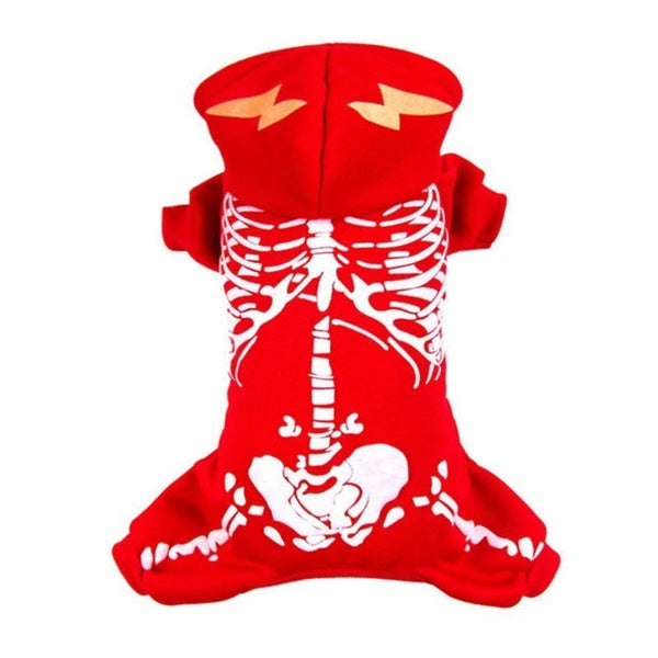 Hot Sale Idepet Dog Costume Cool Dinosaur Halloween Christmas Luminous Pet Clothing Halloween Jumpsuit For Small Dog Cat 30S1