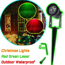 IP44 Waterproof Christmas Lights RG Static Twinkle Outdoor Christmas Laser Lights Projector Decorations For Home with remote