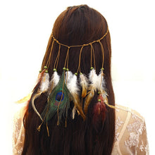 70s Retro Hippie Peace And Love Cosplay Fancy Hair Accessory - Woman