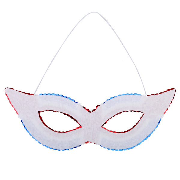 New Halloween Mask Sequin Eye Mask July 4th Patriotic Party Eye Mask Carnival for Hen Night Wedding Fancy Dress Party Decoration