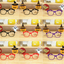 Spoof Props pumpkin Kids Creative Party Decoration Festival Supplies glasses frame bat Halloween 2019 New 1PC Children