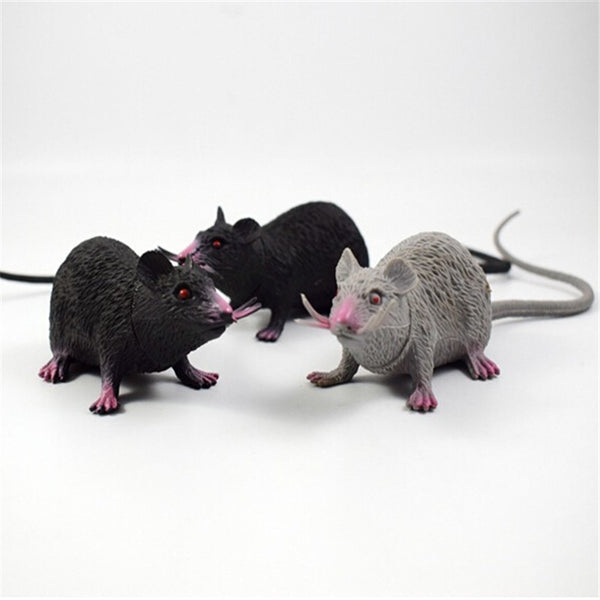 Tricky Joke Fake Lifelike Mouse Model Prop Halloween Toy Party Decor Utility halloween decoration