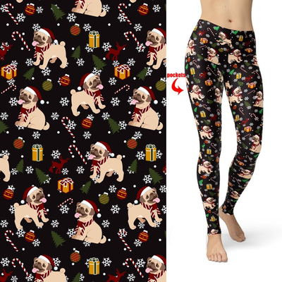 Holly Jolly Holiday  Leggings