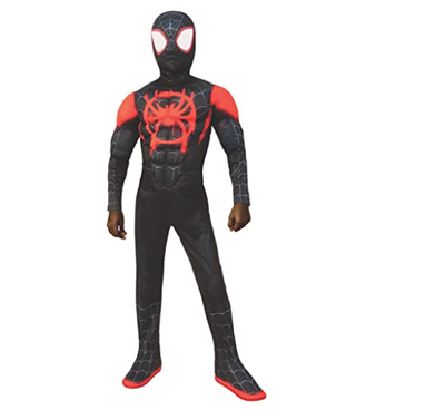Spider Man: Into The Spider-Verse Miles Morales Peter Parker Gwen Stacy Spiderman Halloween Cosplay Costumes Mask Kids Women Men