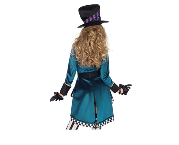 Halloween Alice in Wonderland Costumes Women Magician Cosplay Girls Princess Quess Magic Cosplay Female Coat