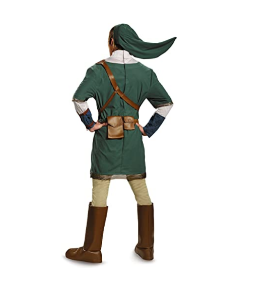 Link Cosplay Costume from the Legend of Zelda, Link the Hylian Halloween costume LoZ