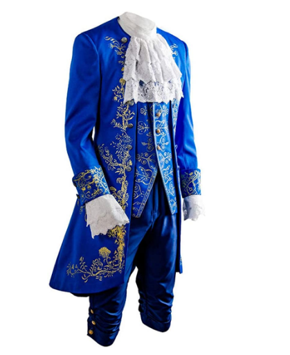2017 Movie Beauty and The Beast cosplay costume Halloween costumes for adult Prince outfit cosplay Beauty and the Beast costume