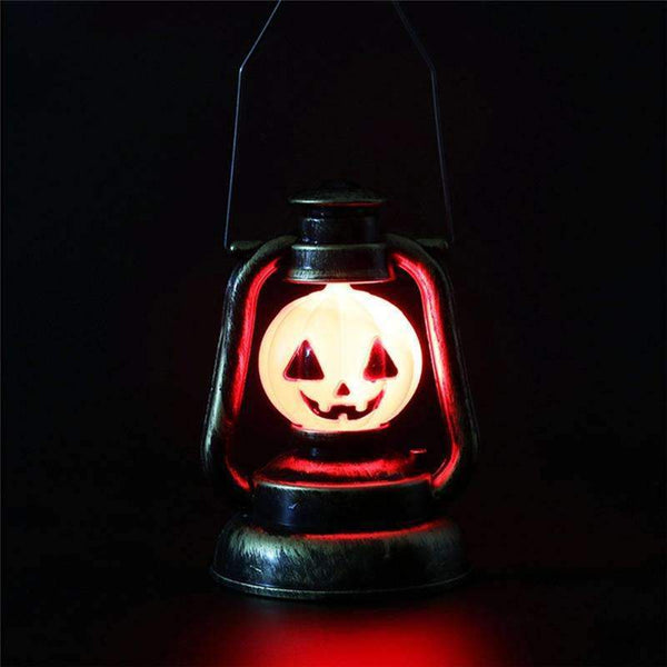 Halloween Decoration Pumpkin Skull Witch Lamp Hanging Portable Light Holder Bar Haunted House Decoration Props supplies
